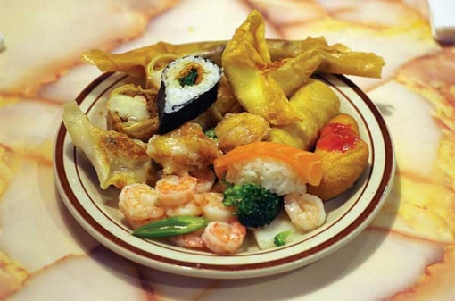 how to eat at a chinese buffet