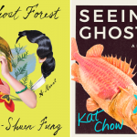 Covers of GHOST FOREST and SEEING GHOSTS