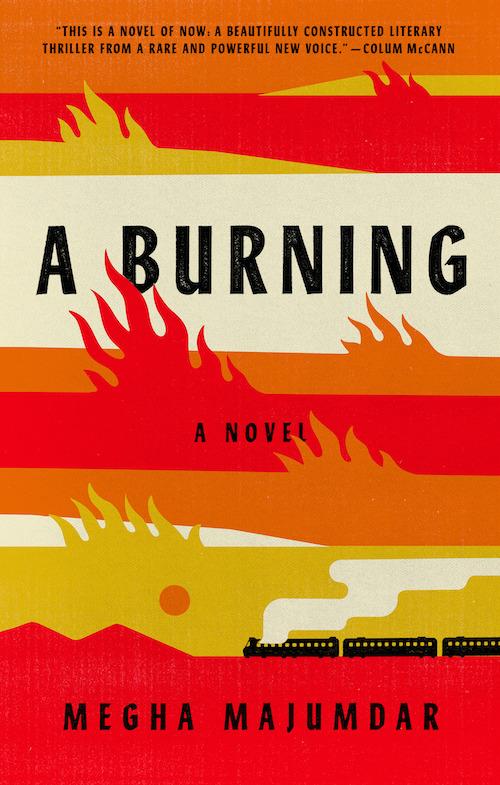Cover of A Burning Novel