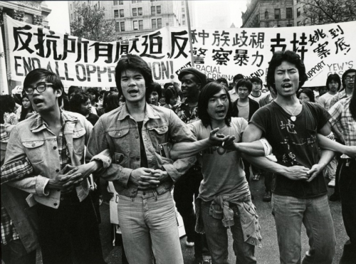 Peter Yew Police Brutality Protests (In front of New York City Supreme Court)