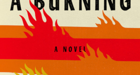 Cover of A Burning Novel
