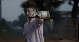 "Screencap from the ""Dat $tick"" music video"