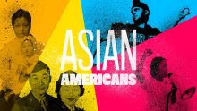 Asian Americans PBS Documentary Graphic